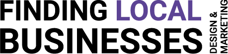 Finding Local Businesses Logo